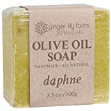Ginger Lily Farm's Botanicals Olive Oil Soap, Daphne, 3.5 Ounces