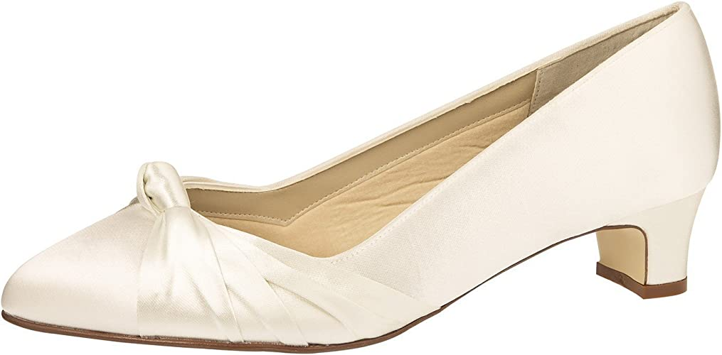 Wide Fit Ivory Wedding Shoes Size 7.5
