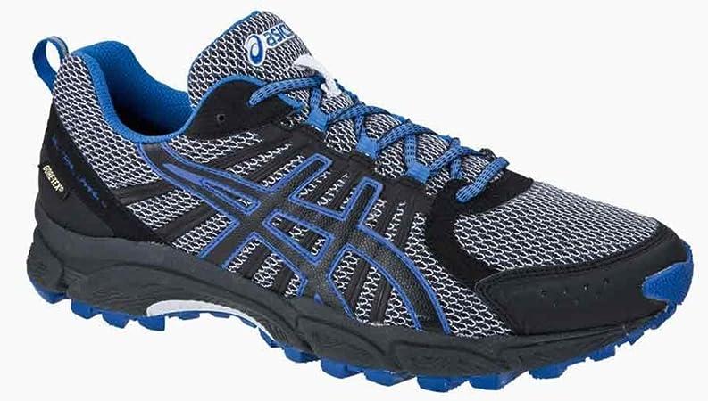 ayuda veredicto aleación  ASICS Gel-Trail Lahar 4 G-TX, Men's Trail Shoes, Grey Black Blue, US 12 EU  46.5: Amazon.co.uk: Sports & Outdoors