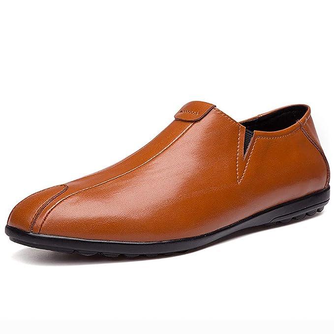 Mocasines Confort En Piel De Cuero Primavera/Verano/Otoño Comfort Mocasines Y Slip-On Zapatos: Amazon.es: Ropa y accesorios