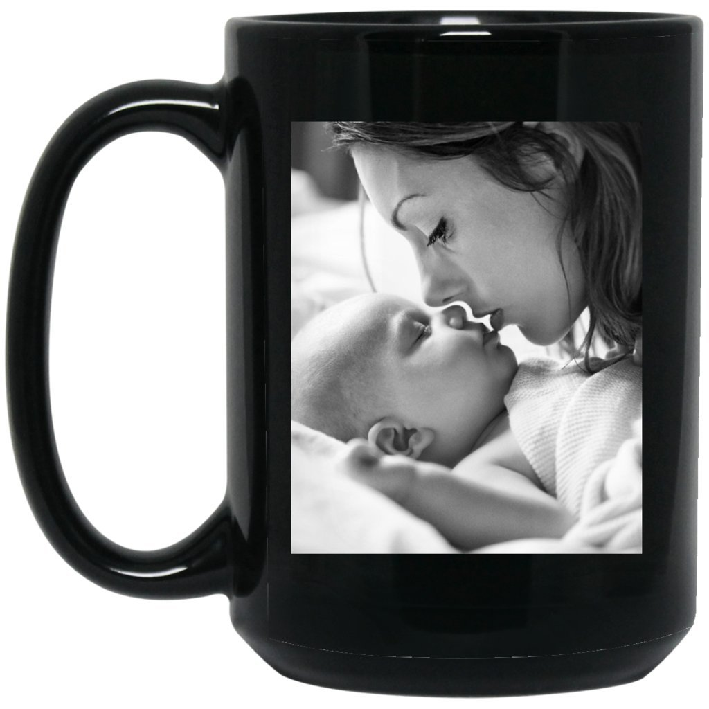 Personalized Coffee Mug for Father Day - Add Your Photo/Logo to Customized Travel, Beer Mug - Great Quality for Gift (Black, 15 oz) by BestEquips (Image #9)