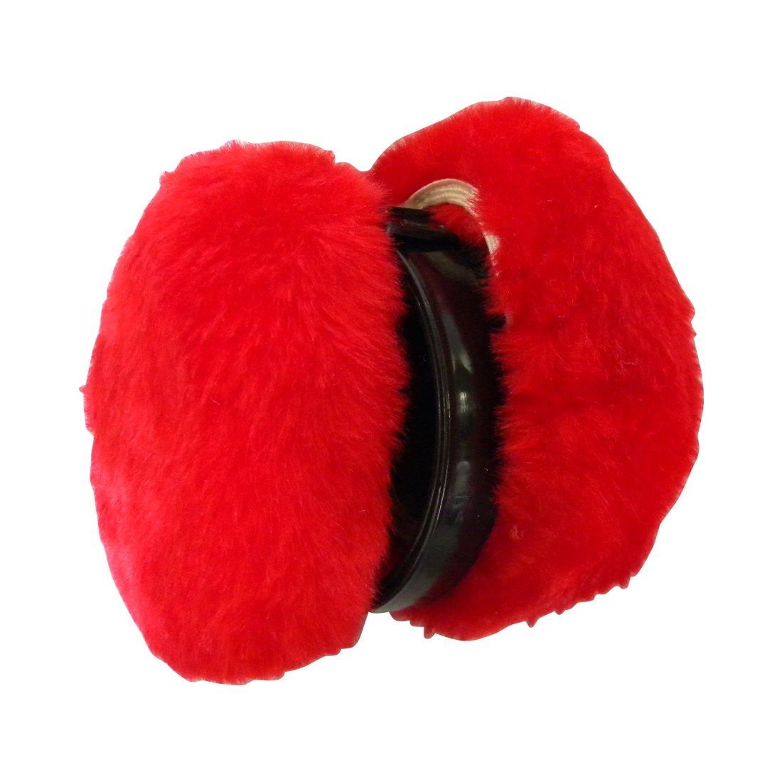 Solid Colors Ear Muffs Folding Earmuffs Ear Warmers em-reg-solid-black