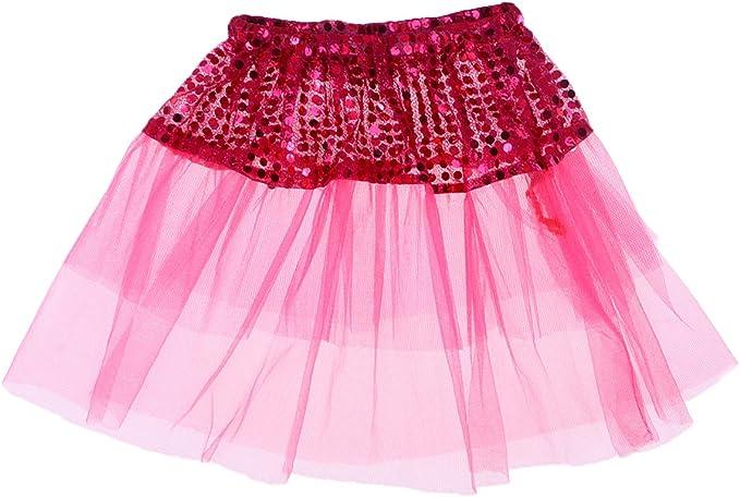 FENICAL Falda de Ballet tutú para niñas Falda de Baile con ...