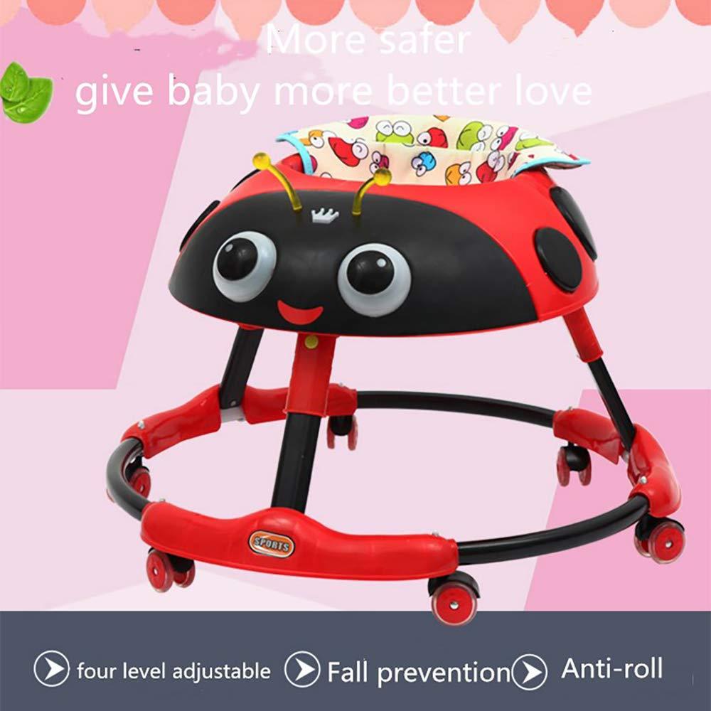 LL-SUNGIRL Andador para Bebés, Andador Plegable Multifunción ...