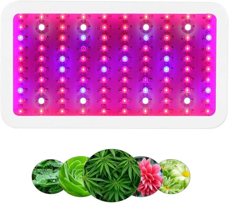 Lámpara de la planta Full Spectrum crece la luz, LED de la lámpara del crecimiento vegetal 300W, hortícola planta de iluminación for la flor Veg sistema hidropónico de plantas Grow/Bloom Carpa