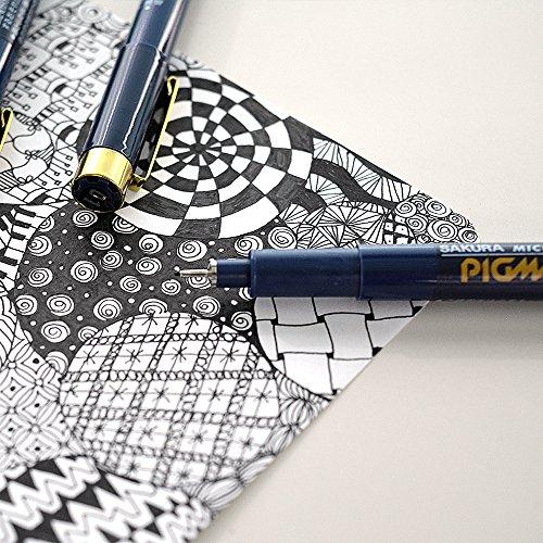 Sakura Pigment Ink Pen, Pigma Micron 1, Black (ESDK1#49) Photo #6