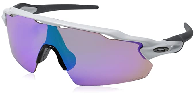 new oakley golf sunglasses  oakley men's golf radar ev pitch shield sunglasses, polished white frame/prizm golf lenses