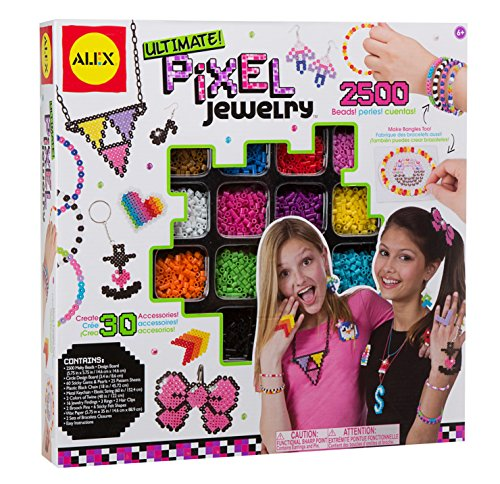 ALEX Toys Do-it-Yourself Wear Ultimate Pixel Jewelry Kit