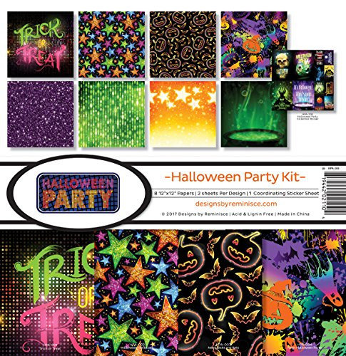 Reminisce Halloween Party Scrapbook Collection Kit -