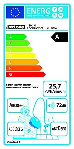 Miele, Aspirapolvere Compact C2 Allergy EcoLine Plus