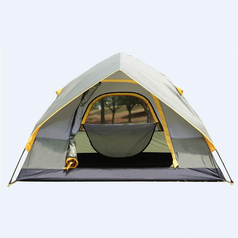 Miao Outdoor Regen Prävention und Wind Widerstand 2 Personen Camping Automatik Zelte