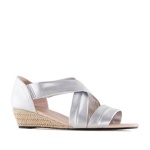 Andres Machado.AM5267.Chaussures compensées en suèdine.pour Femmes ... df5a17292709