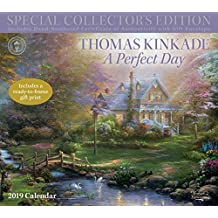 Thomas Kinkade Special Collector's Edition 2019 Deluxe Wall Calendar: A Perfect Day
