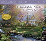 Book cover from Thomas Kinkade Special Collectors Edition 2019 Deluxe Wall Calendar: A Perfect Day by Thomas Kinkade