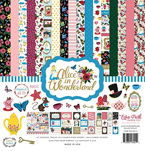 Echo Park Paper Company Alice in Wonderland Collection Kit by Echo Park Paper Company