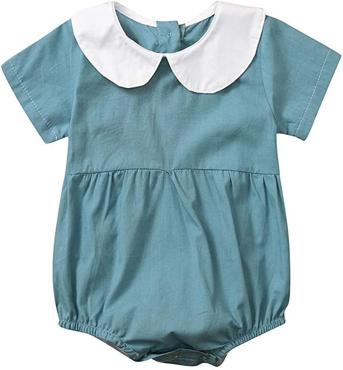 Amazon.com: WARMSHOP Pelele de 3 – 24 meses, bebé niña Peter ...
