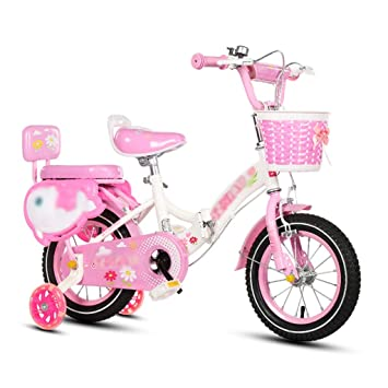 JianMeiHome Bicicleta para niños Bicicleta Plegable para niños 2-12 años Bicicleta para Pedales con