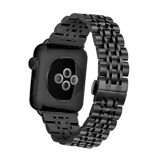 57 opinioni per Elobeth, cinturino sostitutivo in maglia milanese per Apple Watch, con chiusura