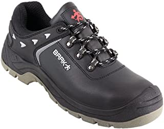 BAAK, 8334, Scarpe di sicurezza Batti scarpe S3 SRC Edilizia sicurezza BGR 191, neri, 45-008334-37