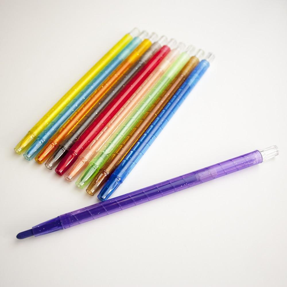 8/St/ück Kunststoff Anker TWSR//1 Kids Create Kunst und Handwerk Twist /& Turn Kreiden Farbe sortiert