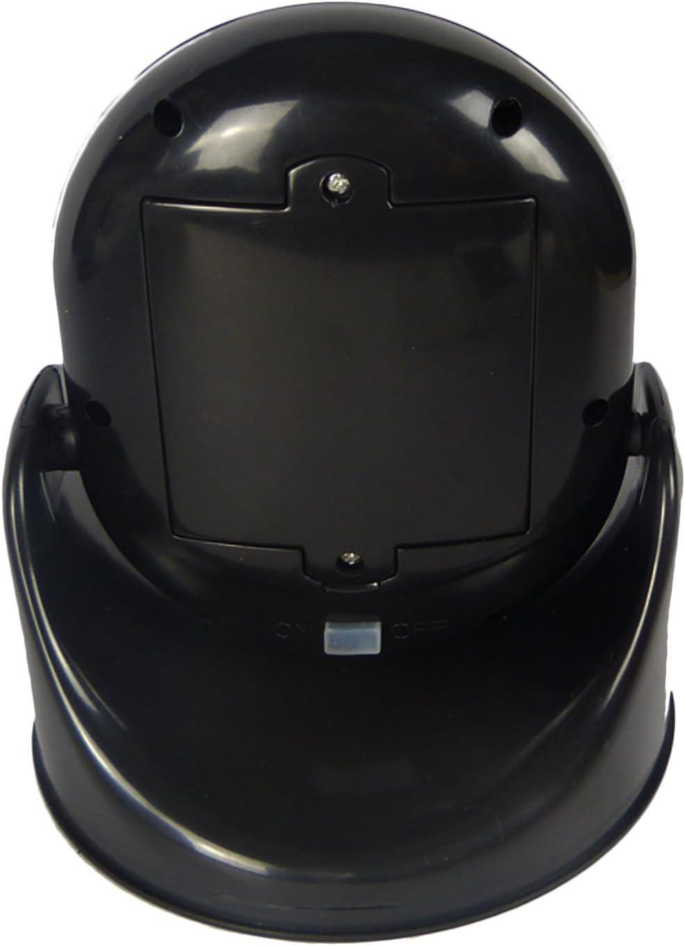 LED Motion Sensor Security Light 7 LED Cordless Rotating Base LED Light Indoor Black
