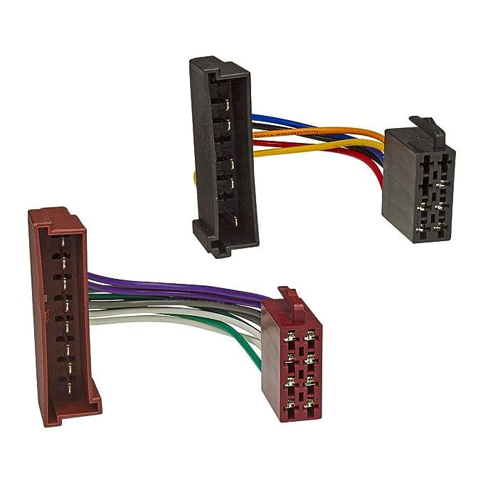 Auto Kabel Radioadapter ISO DIN passend  für Radio JAGUAR S-TYPE//XJ12//XJR//XJS
