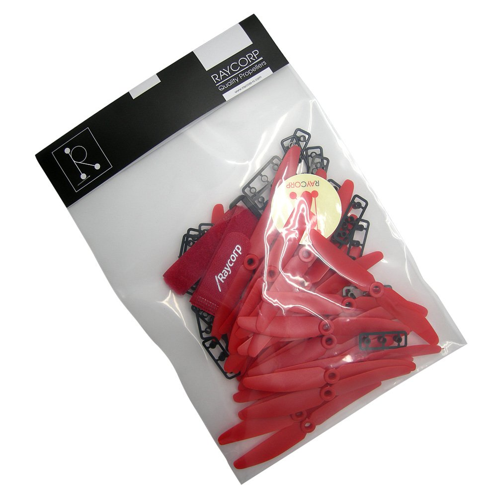 Propellers 16CW, 16CCW Battery Strap Red 5-inch Quadcopters /& Mutlirotors Props 32 Pieces RAYCorp 5030 5x3