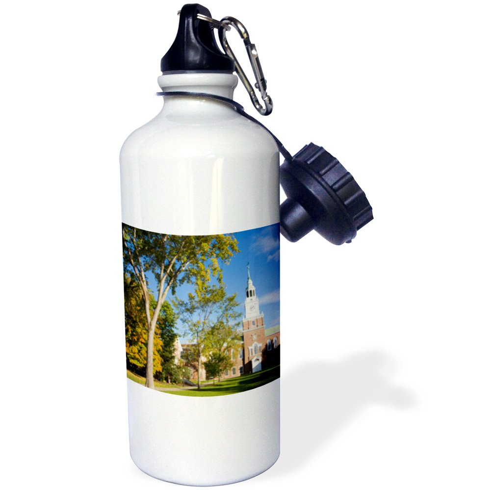3dRose wb/_92378/_1Education White New Hampshire US30 JMO1118 Jerry and Marcy Monkman Sports Water Bottle Dartmouth College 21 oz