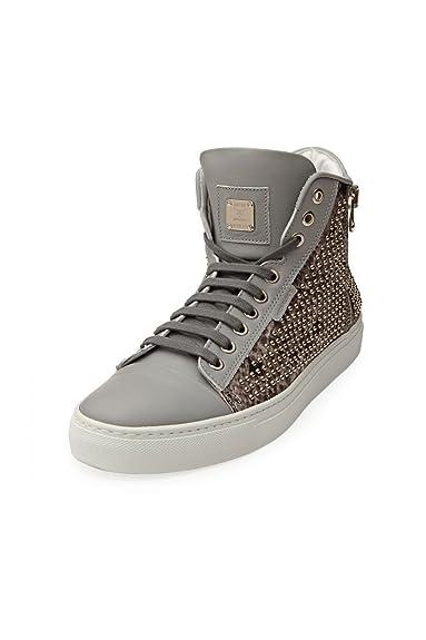 MCM Schuhe Grey Python
