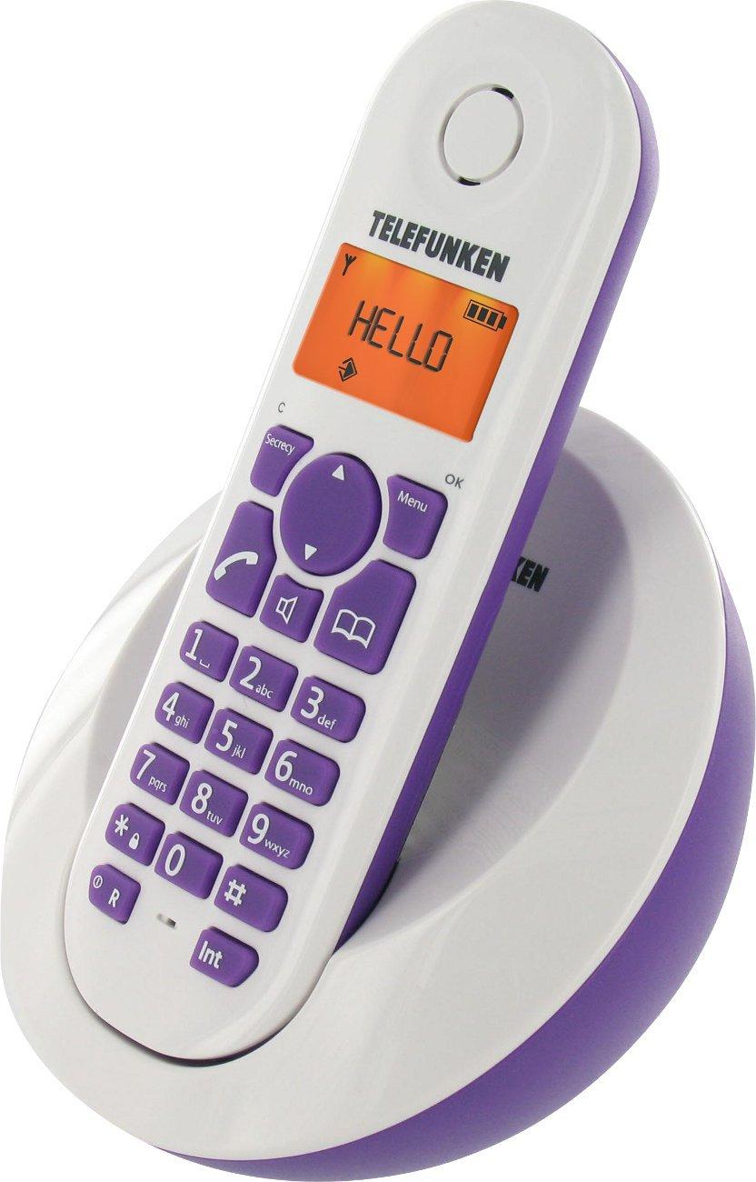 Téléphone fixe TELEFUNKEN TB201 VIOLET SOLO SANS REPONDEUR