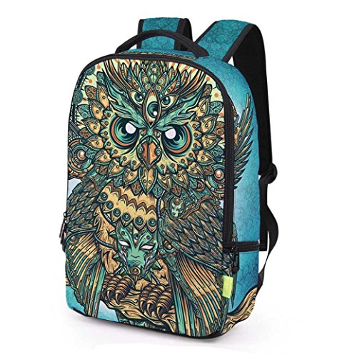 Fashionable 3d Backpack,Hongxin Animal Styles Polyester Laptop Backpack Unisex 3D Galaxy Backpack For Travel Outdoor Sports Large Capacity Shoulder Bookbag School Bag (I) from Hongxin