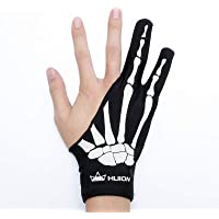 HUION Skeleton Glove for Graphics Drawing Tablets Free Size Two-Finger Artist Glove for Pen Display/LCD Light Box/Pad…