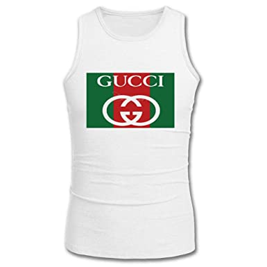c2f9b9b6 Gucci New 2016 Mens Printed Tanks Tops Sleeveless t Shirts: Amazon ...