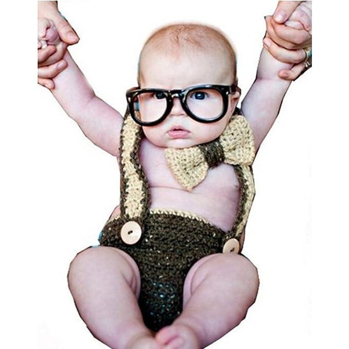 LUOEM Baby Foto Requisiten Set Kostüm Bowknot Baby Infant ...