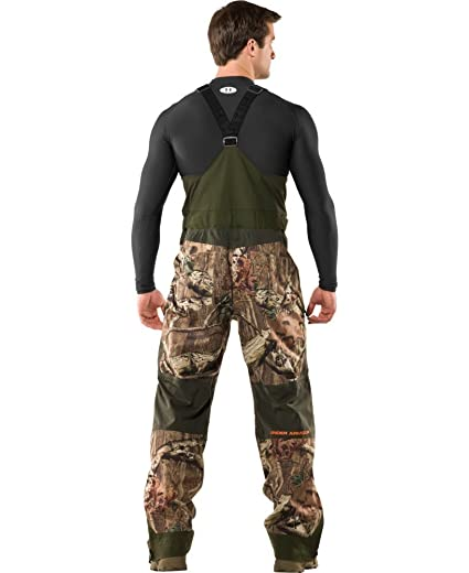 96359887a930a Amazon.com : Under Armour Men's Ridge Reaper Shell Camo Hunting Bib  Suspenders - Small : Athletic Pants : Sports & Outdoors