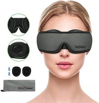 Pretty voir Dormir Masque 3D Bandeau Masque Yeux Pour Hommes Et Femmes Sleeping Mask avec