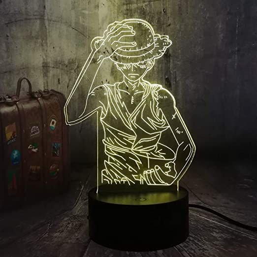 Amazon.com: Japan Anime - Lámpara de escritorio con diseño ...