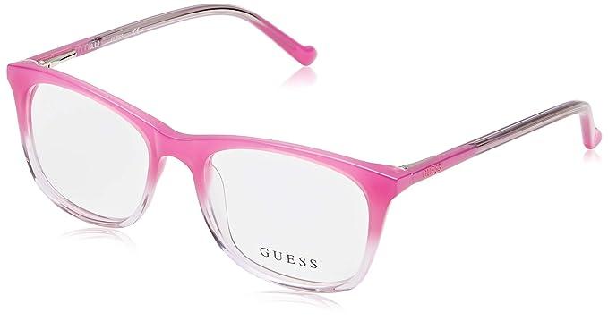 Guess GU9164 Monturas de Gafas, (Rosa Luc), 47.0 Unisex ...