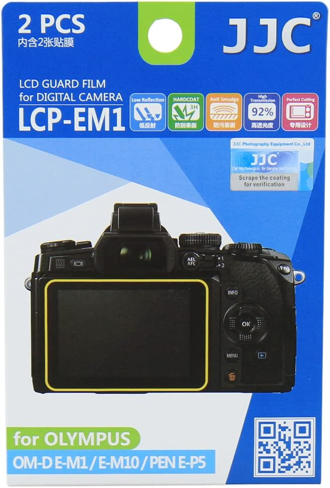 The Screen Protector for: Olympus E-M1 III//E-M1 Mark III 2pcs - Crystal Clear Expert Shield