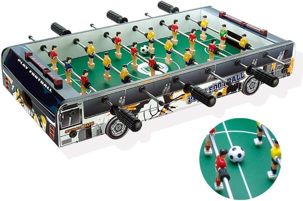 TIM-LI Mini Futbolín De Mesa, Juego De Fútbol De Madera Fácil De ...