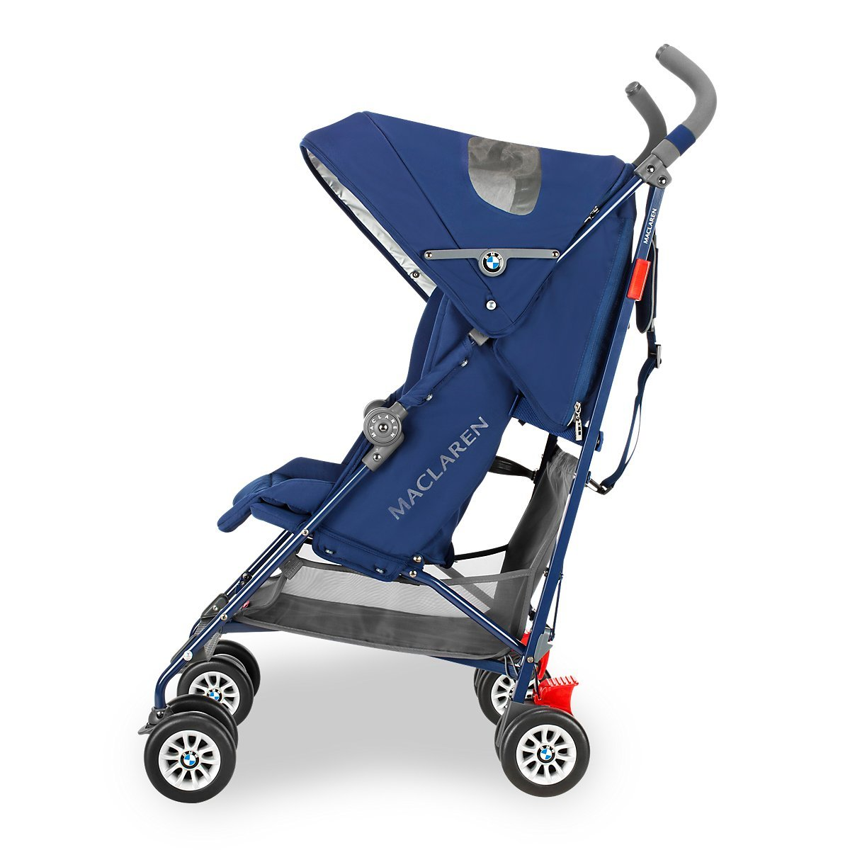 Amazon.com: Maclaren BMW Buggy carriola, Marino: Baby