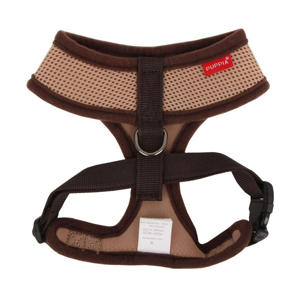 L Beige Soft Harness