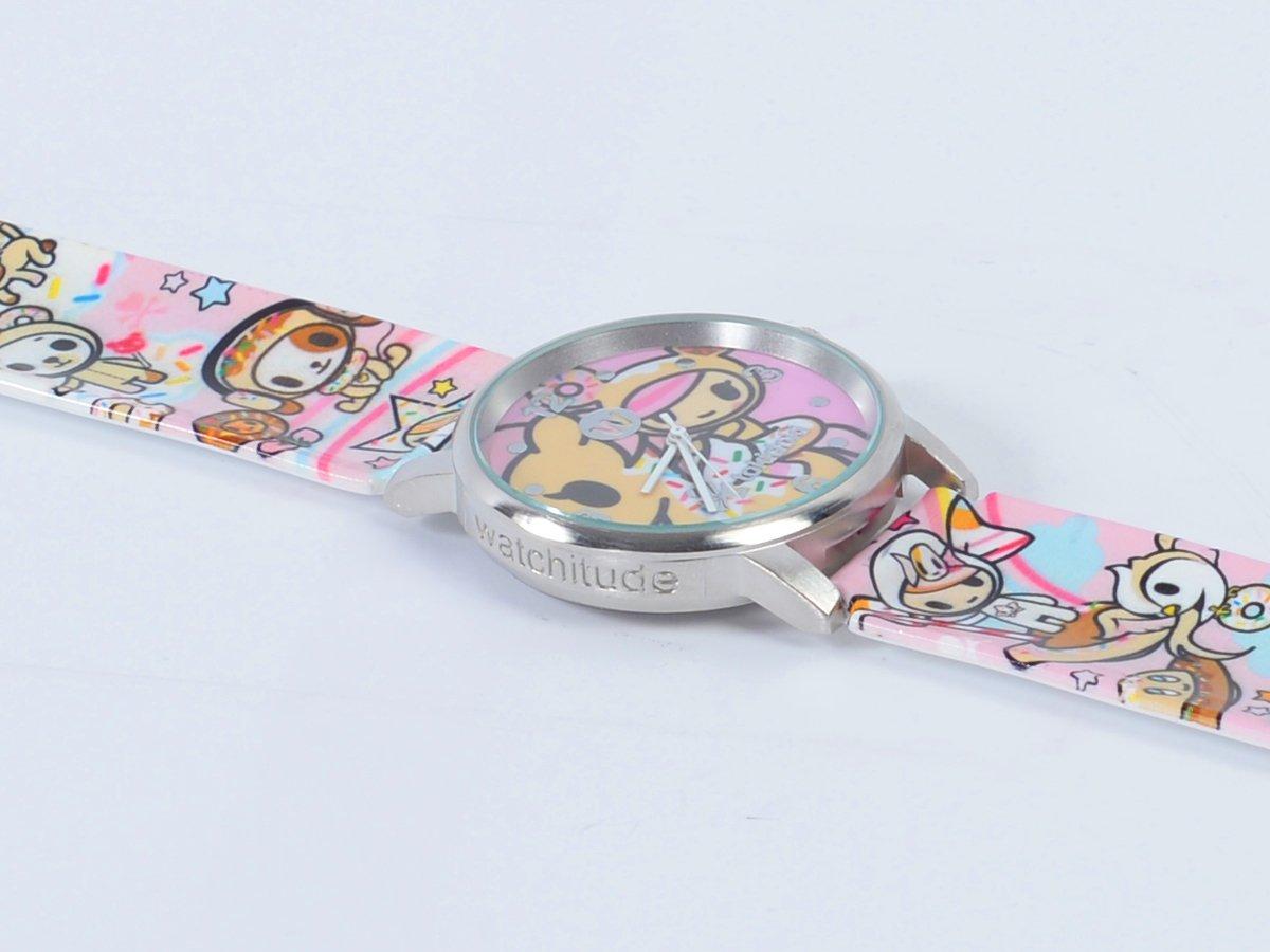 Tokidoki - W Snap Watch (Donutella) by watchitude (Image #2)