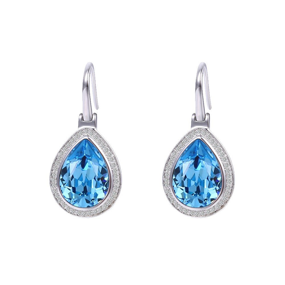 8267d2a38b5e See all customer reviews · Xuping Halloween New Fashion Hoop Earrings  Crystals from Swarovski for Women Jewelry Christmas Black Friday Gifts