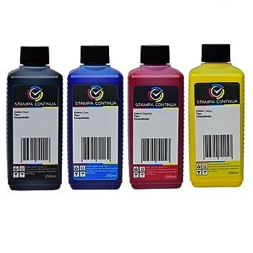 Tinta InkTec 4 x 250 ml para Cartuchos HP 970/971 Compatible ...