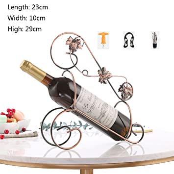 Amazoncom Jiejiede Tabletop Wine Racksexquisite Workmanship Wine