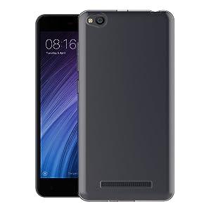 Case for Xiaomi Redmi 4A (5 inch) MaiJin Soft TPU Rubber Gel Bumper Transparent Back Cover (Color: Transparent, Tamaño: Redmi 4A)