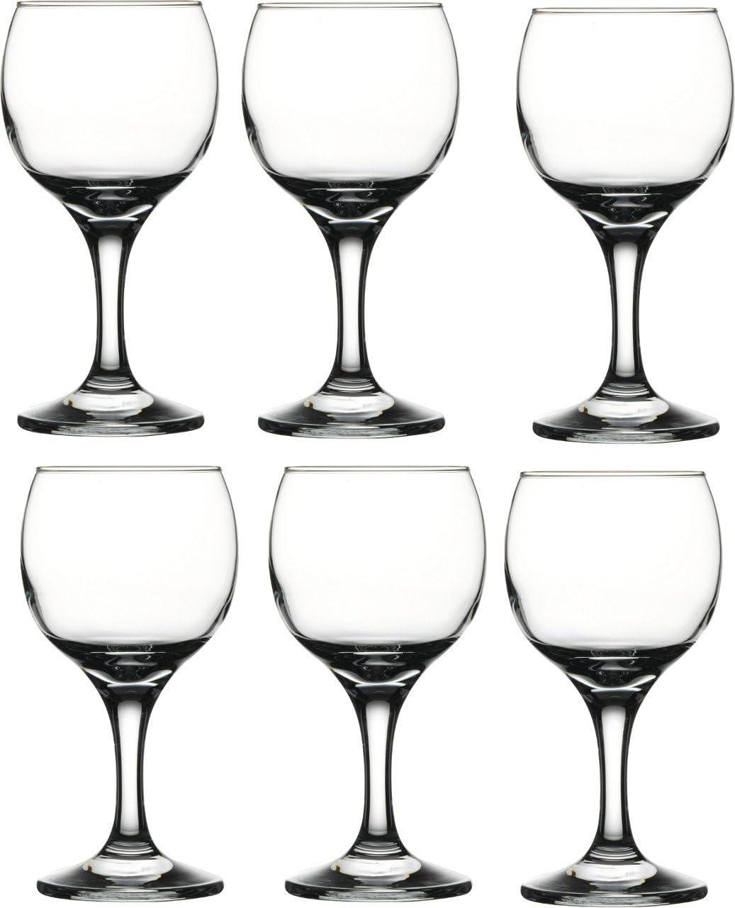Clear 11.25 oz Savannah Street Wine Glasses Set of 6