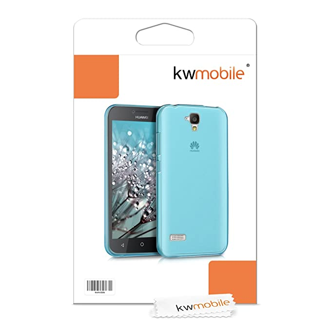 Amazon.com: kwmobile flexible super fino funda para HUAWEI ...
