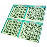 "Primo Bingo Game Sheets 8""X8"" 125/Pkg-500 Games"